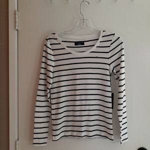 TOMMY HILFIGER Long Sleeve Knit Tee Top